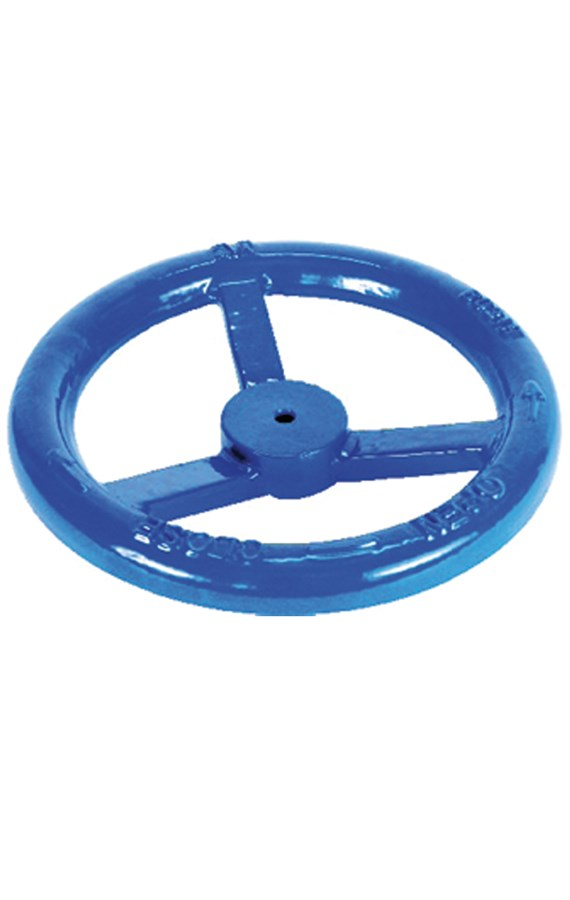 Handwheel for extension spindles #25 mm rod wall post and post indicator.