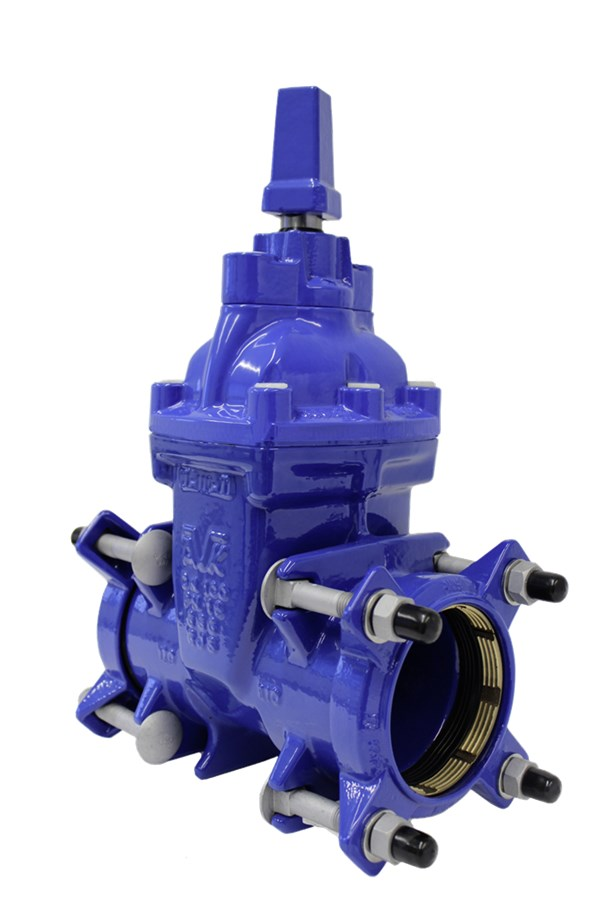 AVK Supa Plus gate valve fully vulcanized and drinking water approved, outstanding durability and corrosion protected