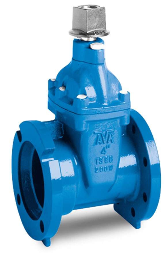 AVK RESILIENT SEATED GATE VALVE, 250 PSI (AWWA WP), Tested